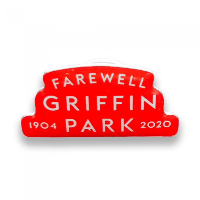 Farewell Griffin Park 1904-2020 Pin Badge
