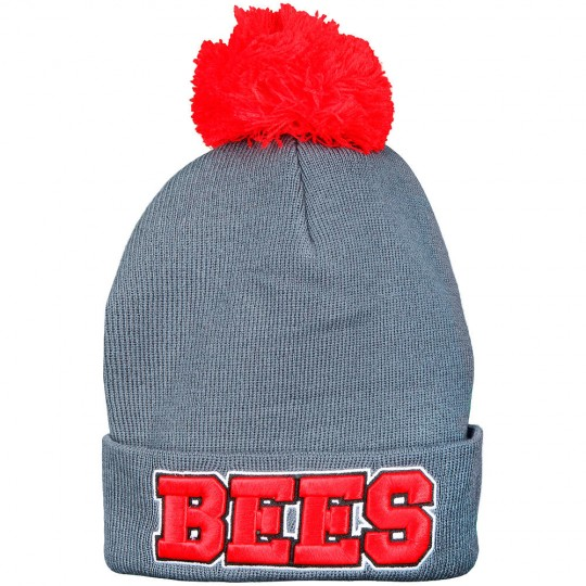 3D Text Bobble Hat