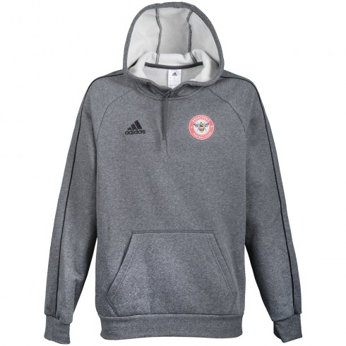 18/19Training Hoody Grey/Black