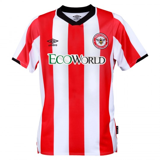 19/20 Brentford Adult Home Shirt