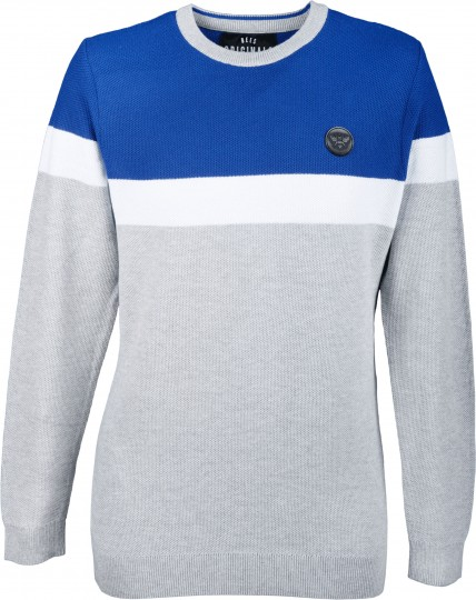 Bees Originals Stripe Jumper Blue