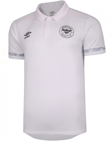 20/21 Training Poly Polo White/Blue