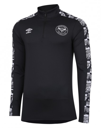 20/21 Training Junior Half Zip Top Black