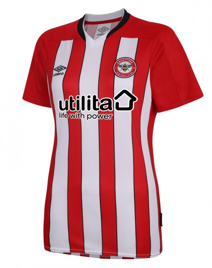 20/21 Brentford Adult Womens Home Shirt