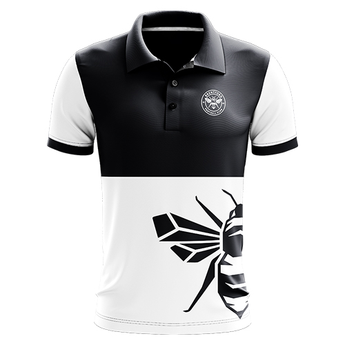 1889 Collection Bee Print Polo