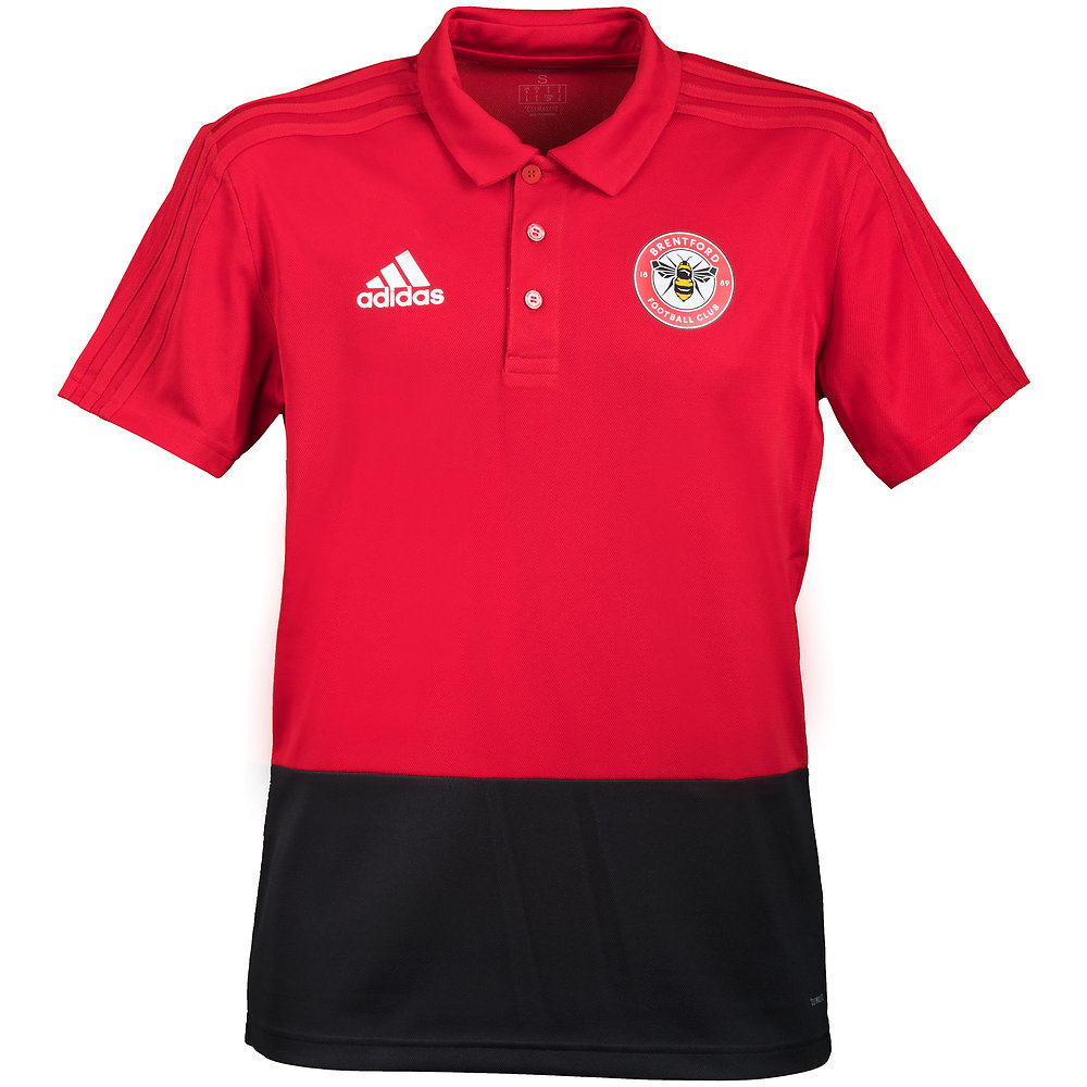 18/19 Training Polo Red/black