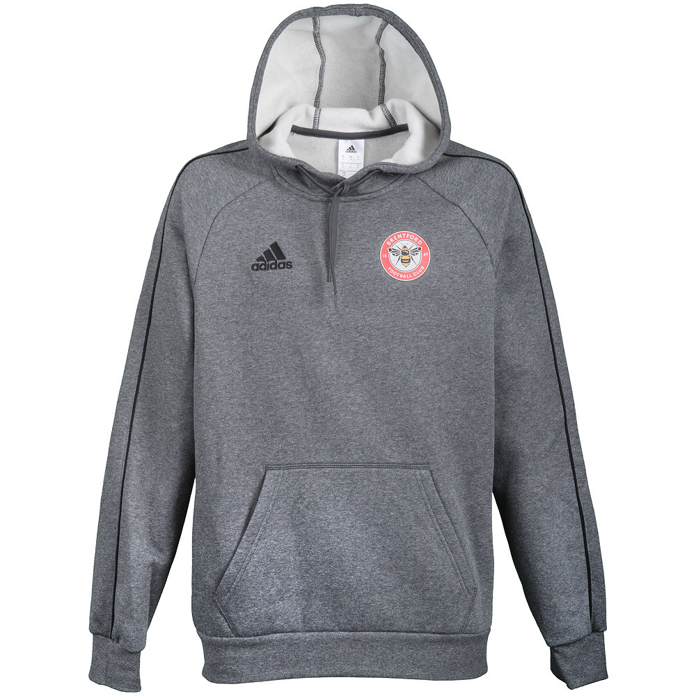 18/19 Junior Training Hoody Grey/Black