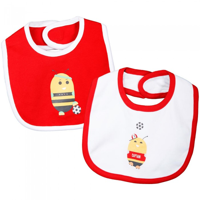 2 Pack Character Bibs