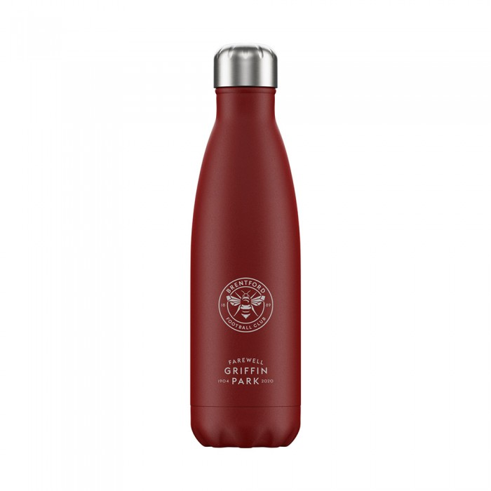 Chillys FGP Water Bottle Red 500ml