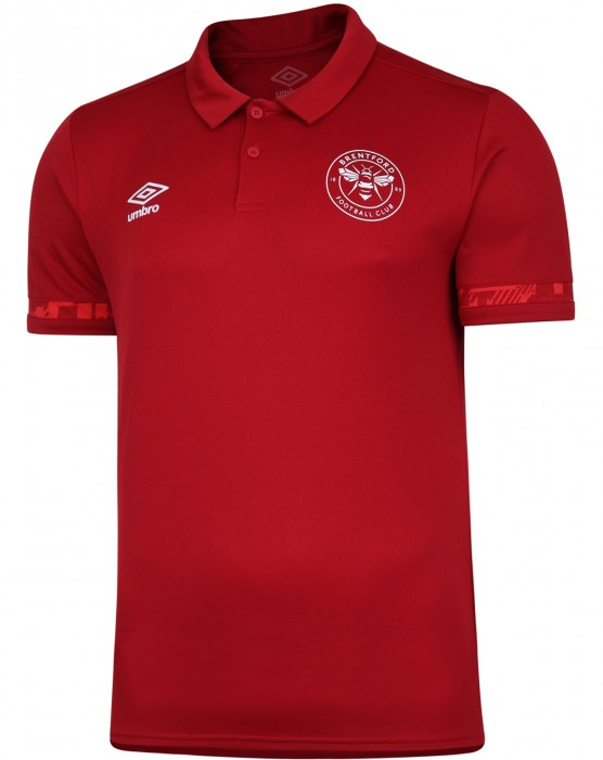 20/21 Training Junior Poly Polo Red