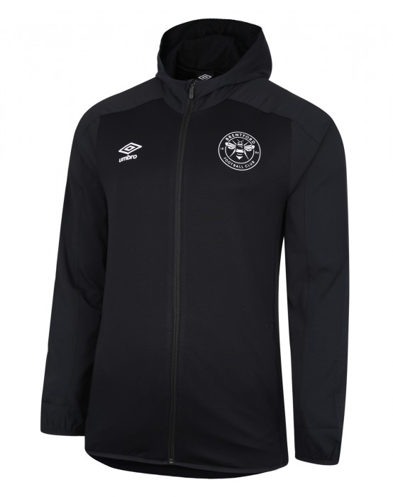 20/21 Training Hooded Jacket Black