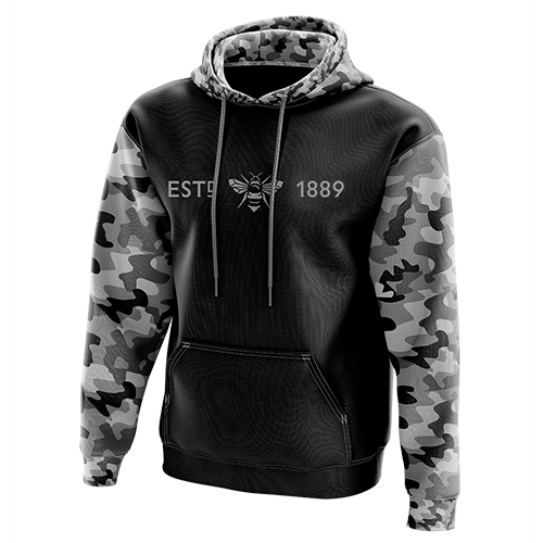 1889 Collection Camo Hoody