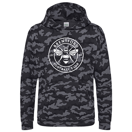 1889 Collection Kids Camo Hoody