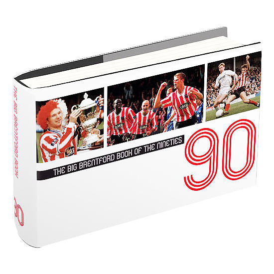 BRENTFORD BOOK OF THE 90S