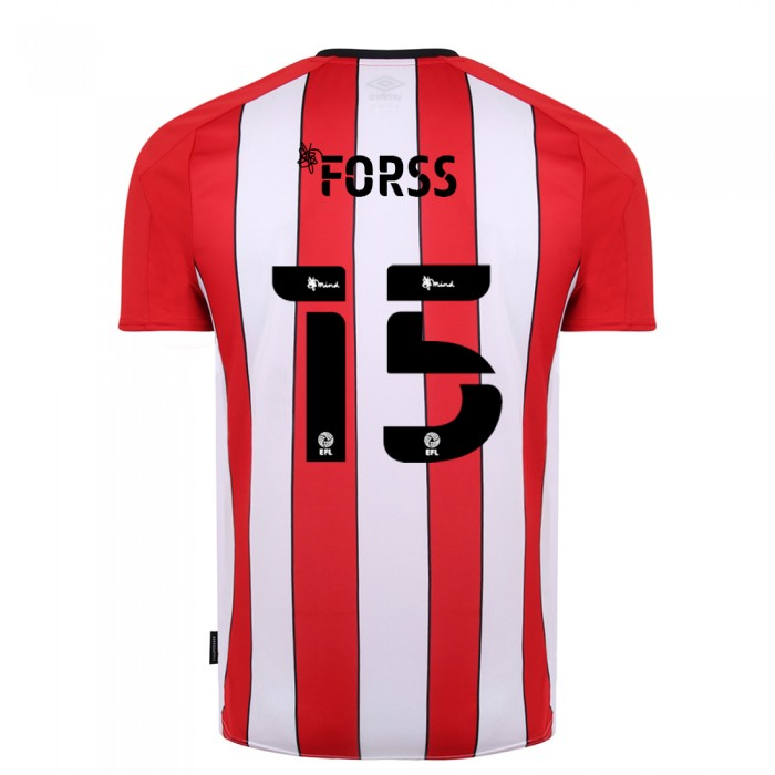 20/21 Brentford Adult Home Shirt
